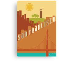 Sunny San Francisco Canvas Print