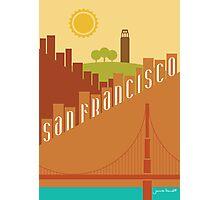 Sunny San Francisco Photographic Print