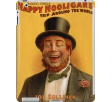 Vintage poster - Musical comedy iPad Case/Skin