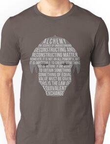 Fullmetal Alchemist: Typography Unisex T-Shirt