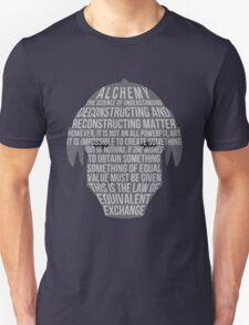 Fullmetal Alchemist: Typography T-Shirt