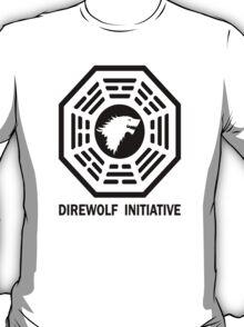 lost game of thrones direwolf initiative  T-Shirt