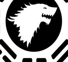 lost game of thrones direwolf initiative  Sticker