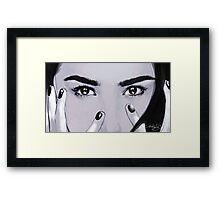 DEMI Framed Print