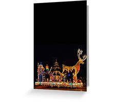 ELECTRIC LIGHT PARADE CARD ONLY Greeting Card