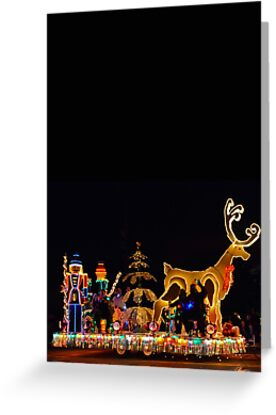 ELECTRIC LIGHT PARADE CARD ONLY by Thomas Barker-Detwiler