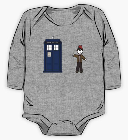 Dr Who (11) car sticker family (also on shirts) One Piece - Long Sleeve