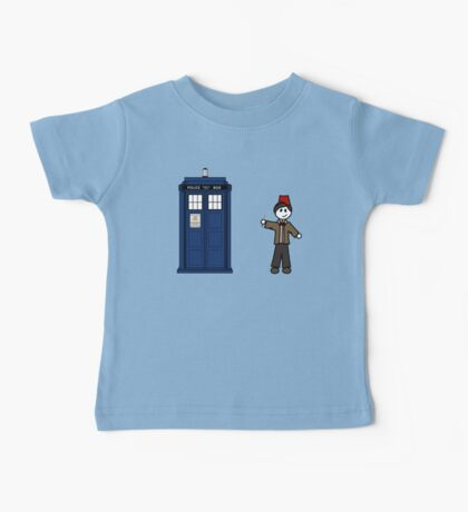 Dr Who (11) car sticker family (also on shirts) Baby Tee