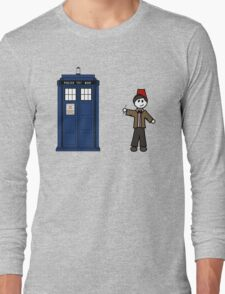 Dr Who (11) car sticker family (also on shirts) Long Sleeve T-Shirt