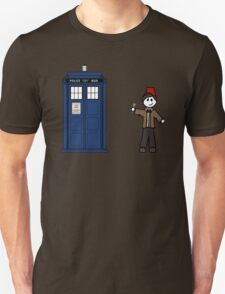 Dr Who (11) car sticker family (also on shirts) Unisex T-Shirt