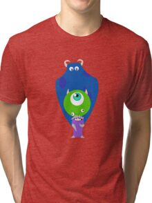 Monsters Inc Tri-blend T-Shirt