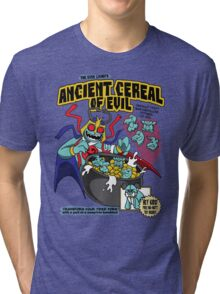 Ancient Cereals of Evil Tri-blend T-Shirt