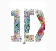 1D logo + bubble background (inverted) by laufeyson