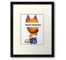 Trust No Redd.  Framed Print