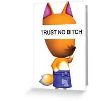 Trust No Redd.  Greeting Card