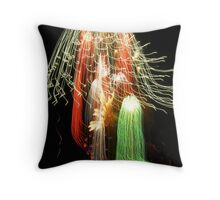 Flash in the pan Throw Pillow