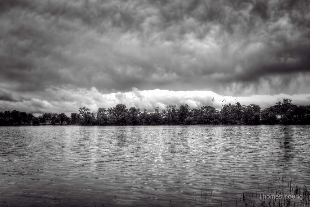 A Storm Rolls By by Thomas Young