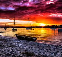 Beached Boat by MikeAndrew