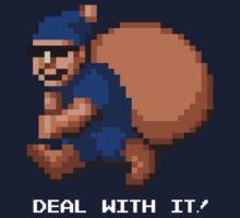 Deal With It! Blue Elf v2 by JDNoodles