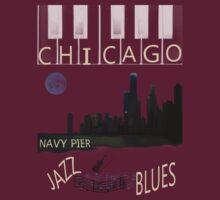 CHICAGO SKYLINE TEE by Spiritinme