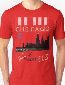 CHICAGO SKYLINE TEE Unisex T-Shirt