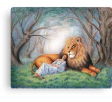 Aslan and Me Canvas Print