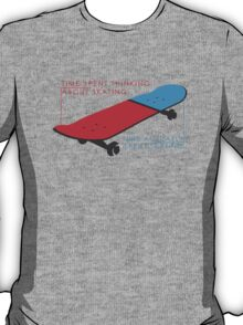 Skateboard infographic T-Shirt