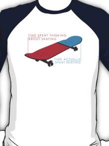 Skateboard infographic T-Shirt