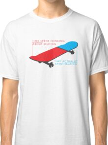Skateboard infographic Classic T-Shirt