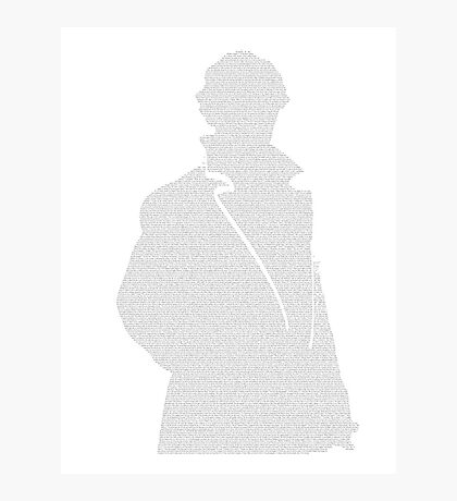 A Scandal in Bohemia - Sherlock Holmes Photographic Print