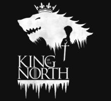 King of the North - white Kids Clothes