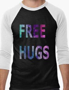Galaxy Free Hugs Men's Baseball ¾ T-Shirt