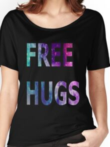 Galaxy Free Hugs Women's Relaxed Fit T-Shirt