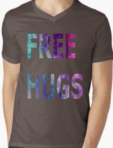 Galaxy Free Hugs Mens V-Neck T-Shirt