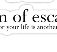 Read to Escape Sticker