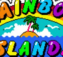 Rainbow Islands Sticker