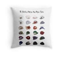 Miss Fisher's Fabulous Hats Throw Pillow