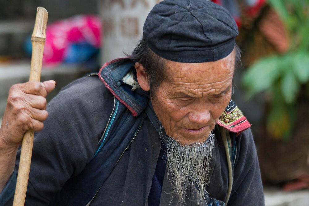 Old Man by byronbackyard