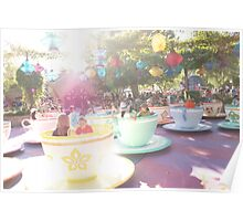 Golden Afternoon Tea Poster