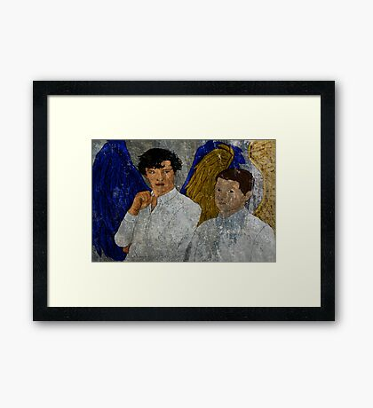 Baker Street Angels - BBC Sherlock Framed Print