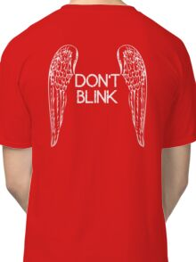 [Doctor Who] Don't Blink - Wings Classic T-Shirt