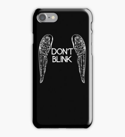 [Doctor Who] Don't Blink - Wings iPhone Case/Skin