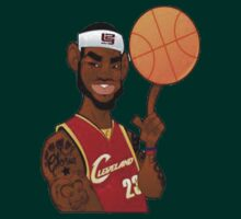 Lebron James Cartoon by bradsipek
