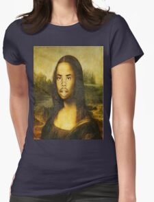 Earl Sweatshirt Mona Lisa Womens Fitted T-Shirt