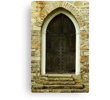 Chapel Door Canvas Print