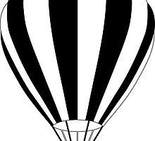 hot air balloon by maydaze
