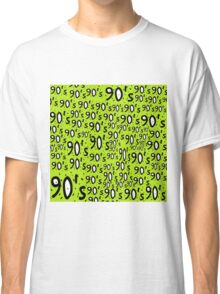 90's lime Classic T-Shirt