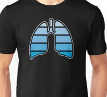 The human lungs Unisex T-Shirt