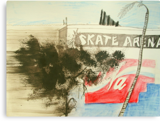 skate arena red hill by donnamalone