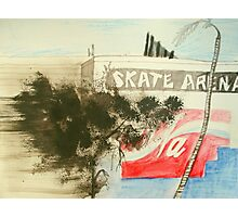 skate arena red hill Photographic Print